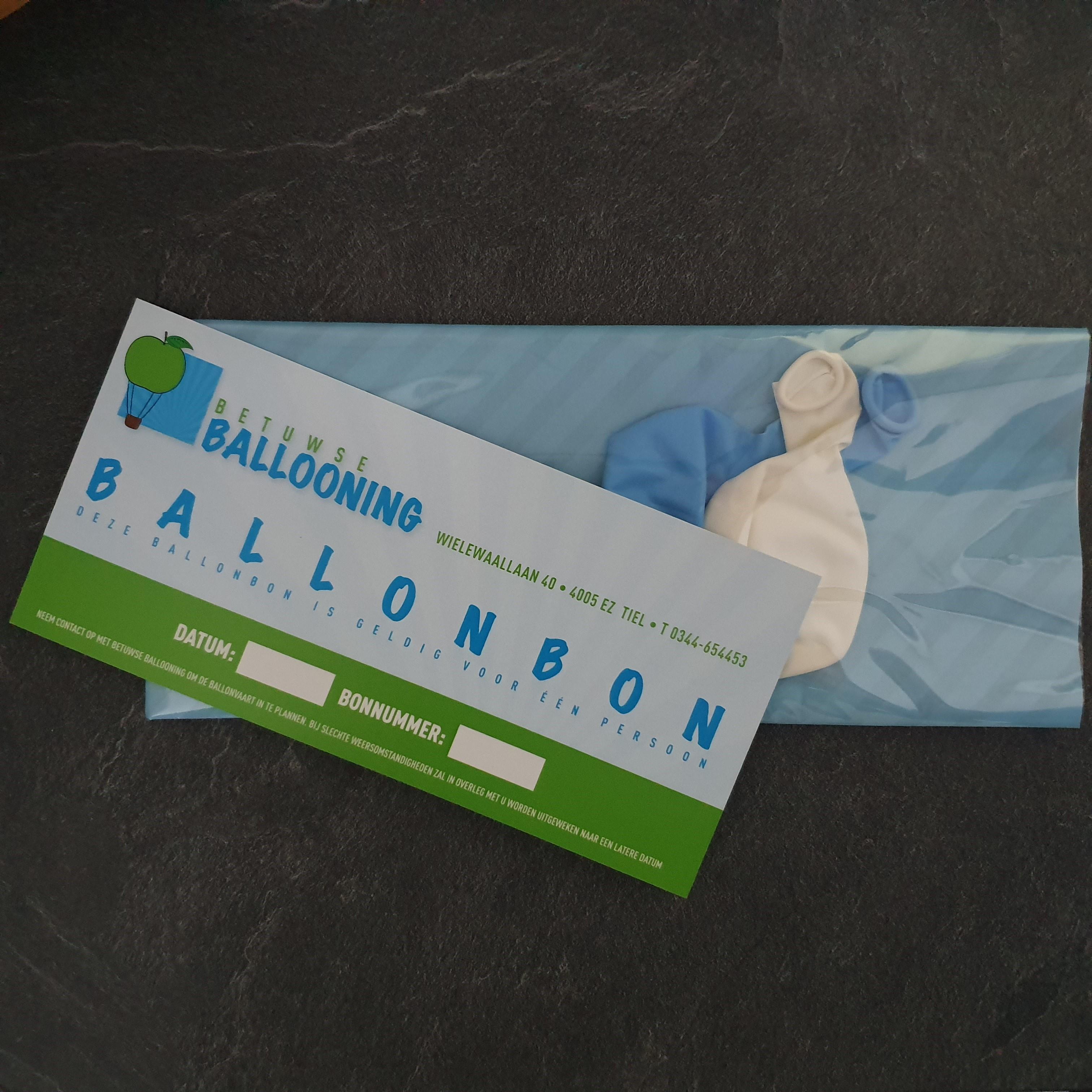 Ballonbon van betuwse ballooning